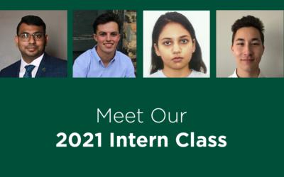 Meet Our 2021 Intern Class